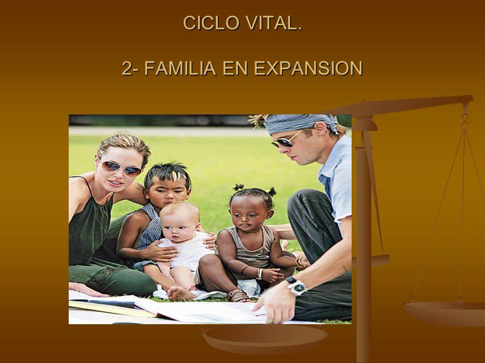 CICLO VITAL. 2- FAMILIA EN EXPANSION