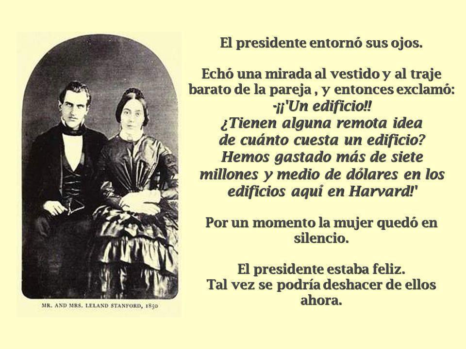 El presidente entornó sus ojos