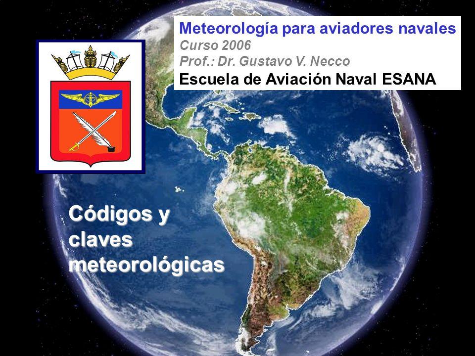 Códigos y claves meteorológicas