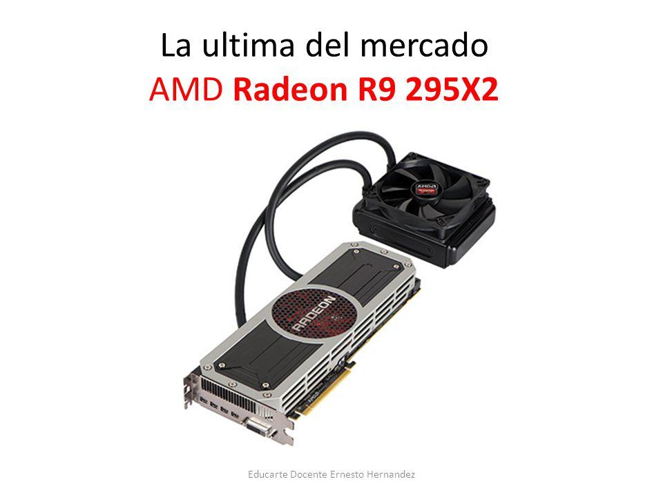 La ultima del mercado AMD Radeon R9 295X2