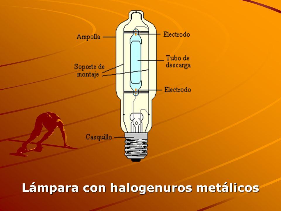 Lámpara con halogenuros metálicos