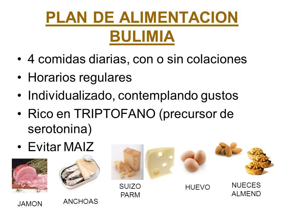 PLAN DE ALIMENTACION BULIMIA