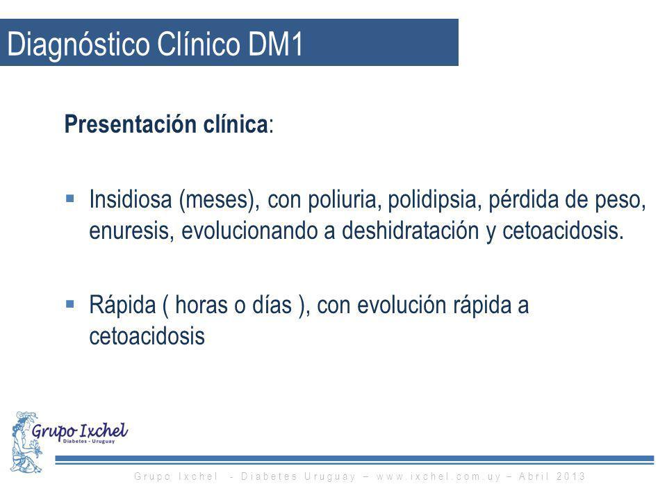Diagnóstico Clínico DM1