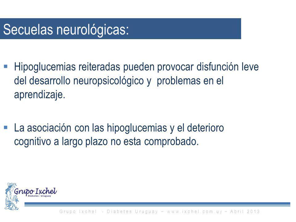 Secuelas neurológicas: