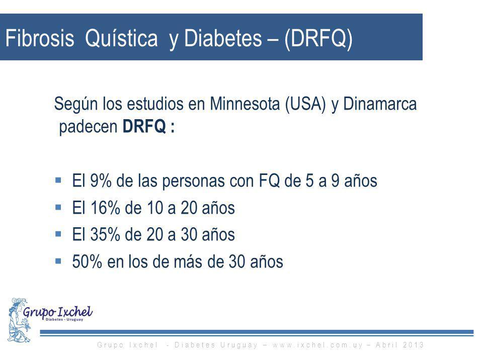 Fibrosis Quística y Diabetes – (DRFQ)