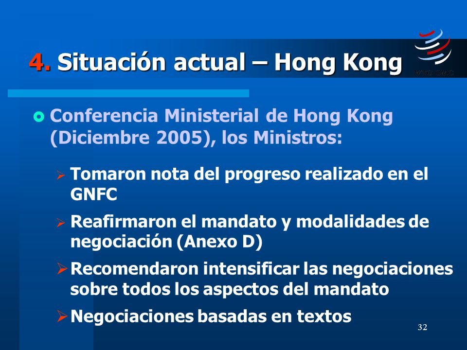 4. Situación actual – Hong Kong