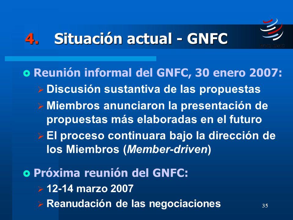 4. Situación actual - GNFC