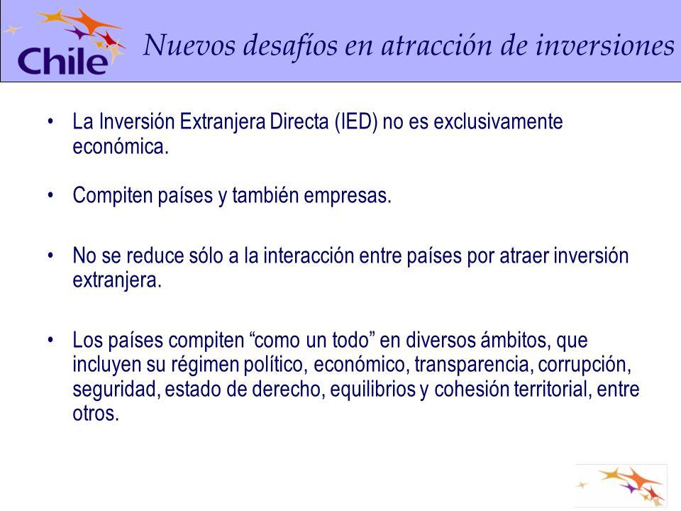 Nuevos desafíos en atracción de inversiones