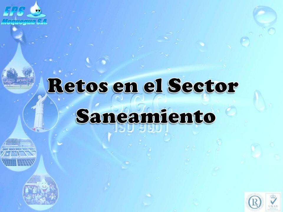 Retos en el Sector Saneamiento