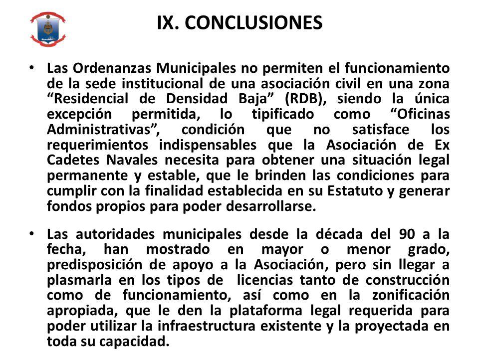 IX. CONCLUSIONES