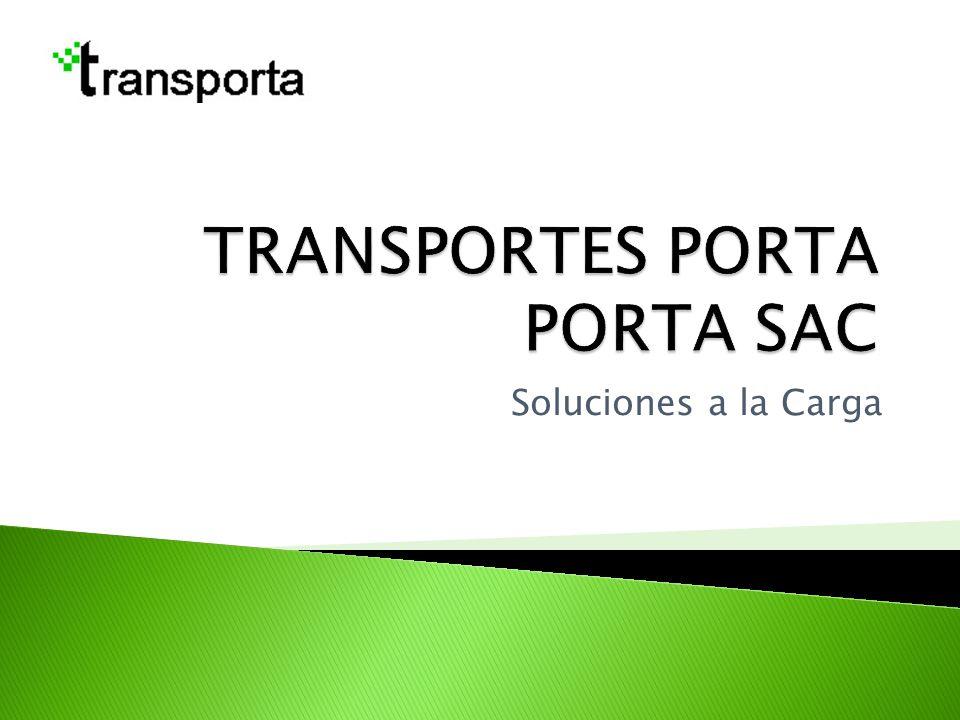 TRANSPORTES PORTA PORTA SAC
