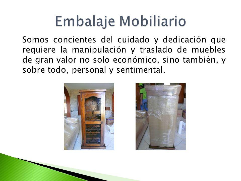 Embalaje Mobiliario