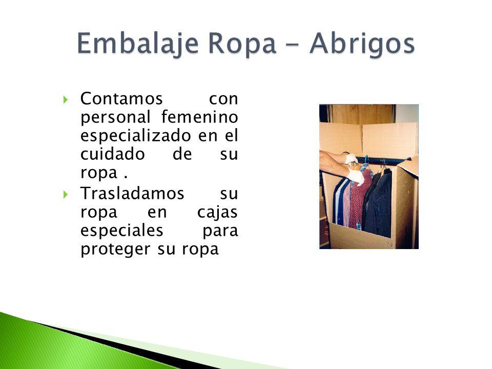 Embalaje Ropa - Abrigos