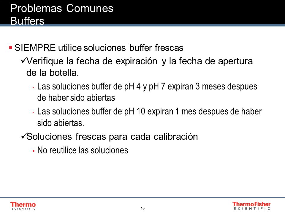 Problemas Comunes Buffers