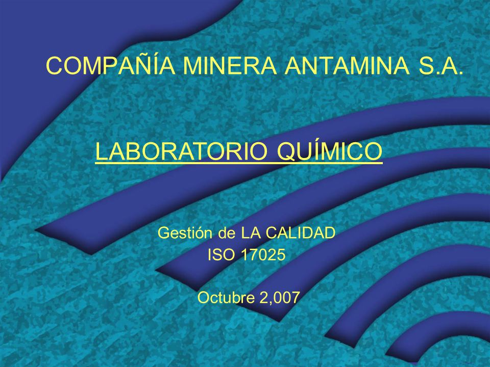COMPAÑÍA MINERA ANTAMINA S.A.