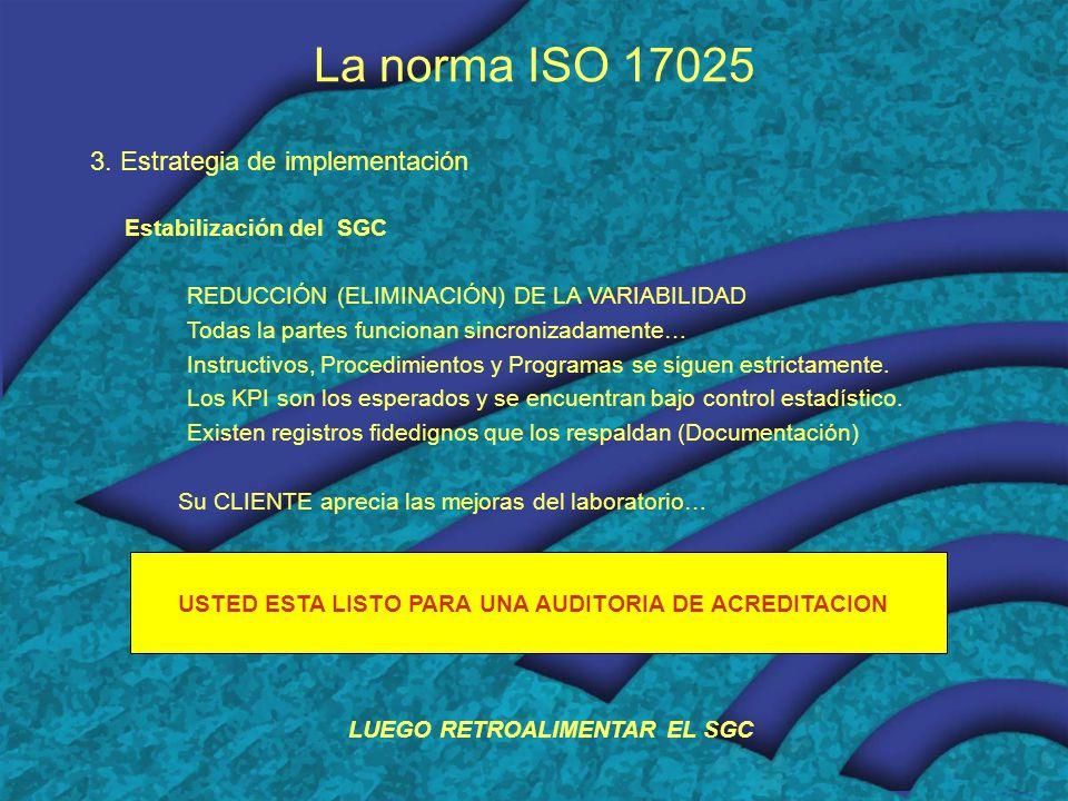 LUEGO RETROALIMENTAR EL SGC