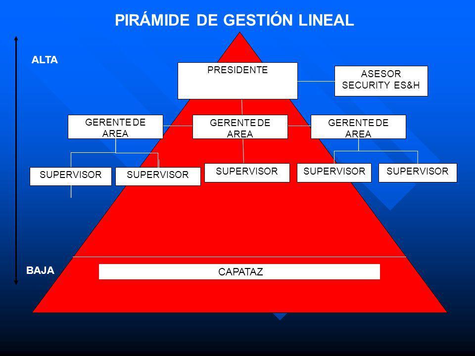 PIRÁMIDE DE GESTIÓN LINEAL