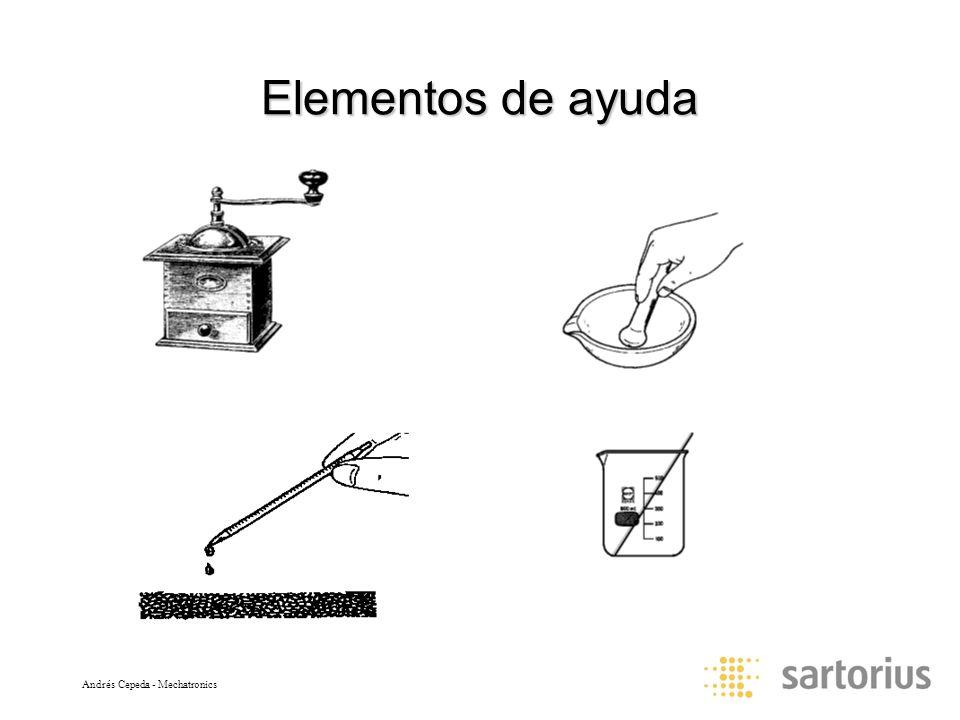 Elementos de ayuda Andrés Cepeda - Mechatronics