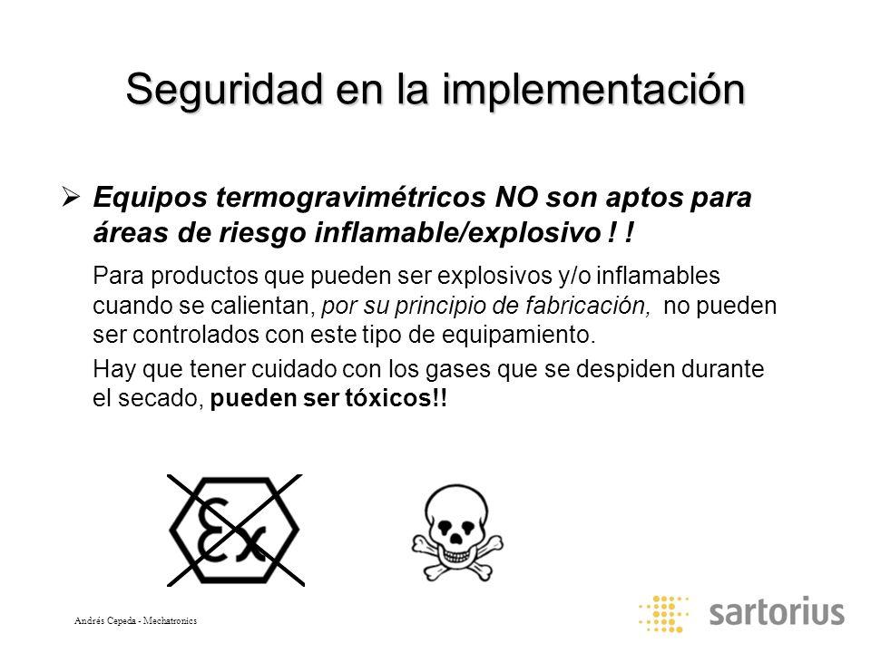 Seguridad en la implementación