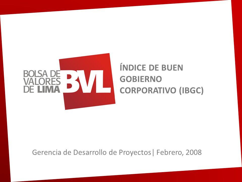 ÍNDICE DE BUEN GOBIERNO CORPORATIVO (IBGC)