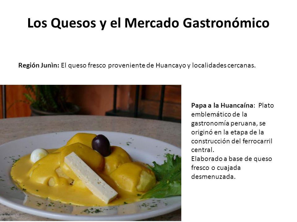 Los Quesos y el Mercado Gastronómico