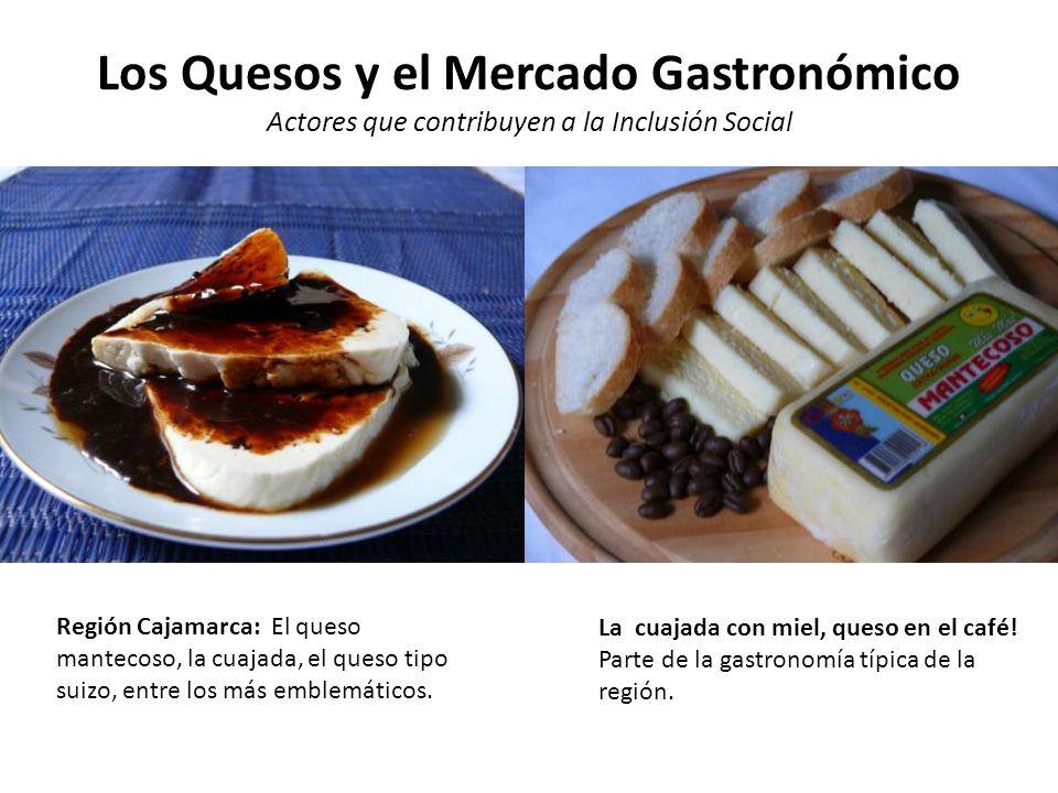 Los Quesos y el Mercado Gastronómico Actores que contribuyen a la Inclusión Social