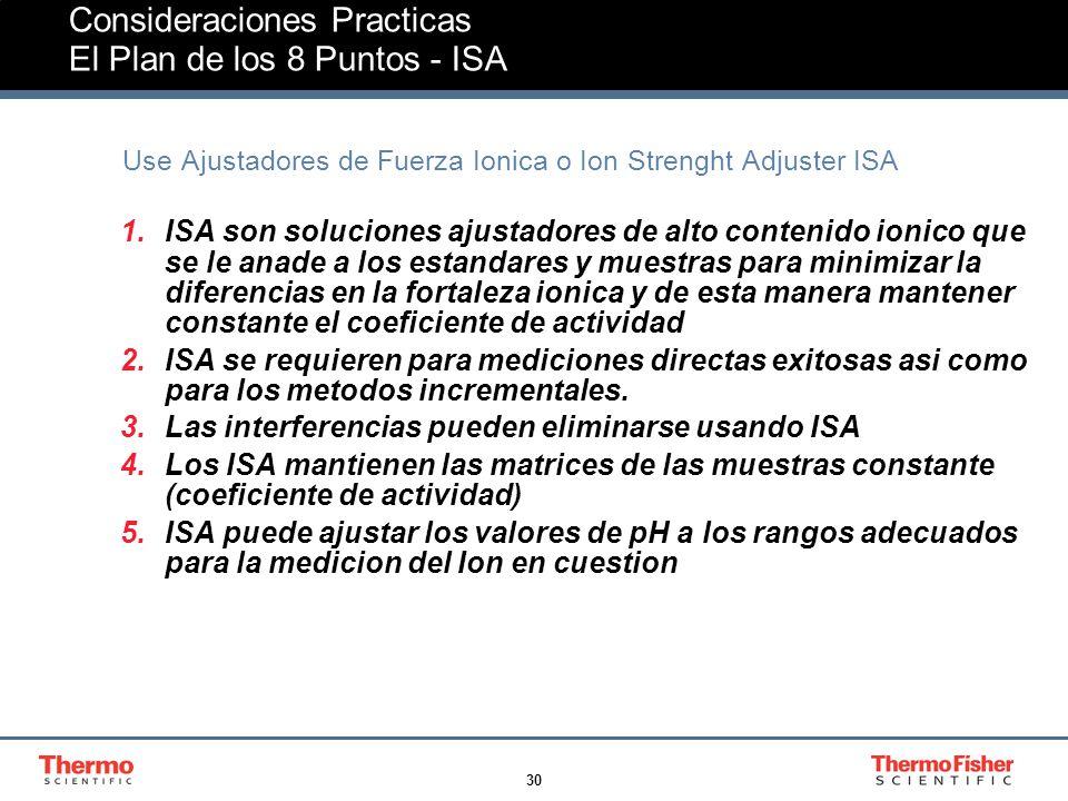 Consideraciones Practicas El Plan de los 8 Puntos - ISA