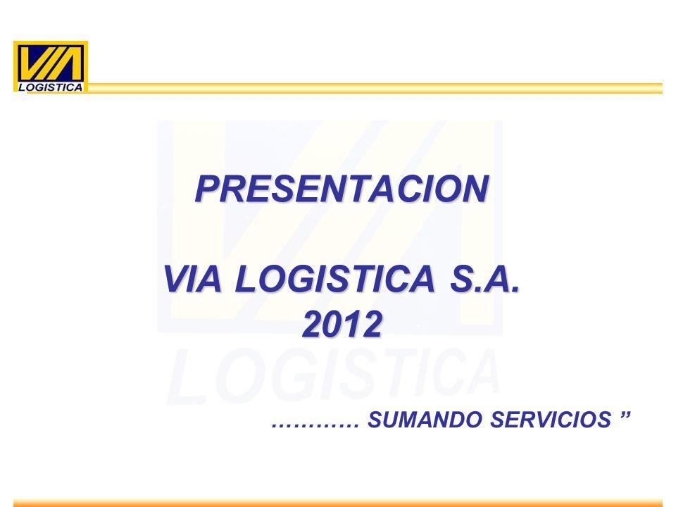 PRESENTACION VIA LOGISTICA S.A. 2012