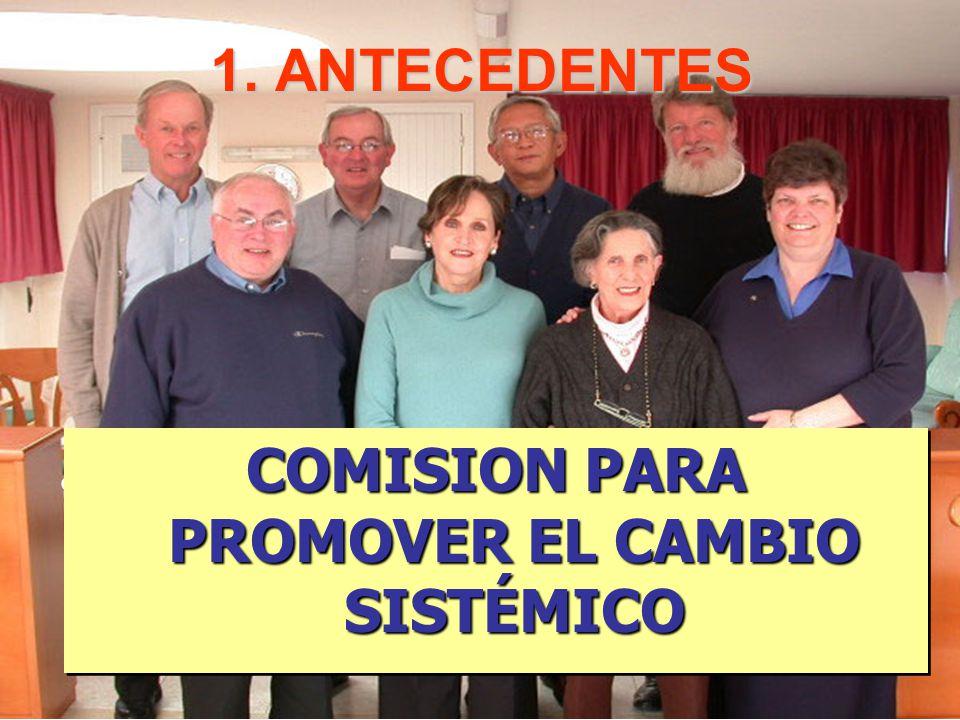 COMISION PARA PROMOVER EL CAMBIO SISTÉMICO
