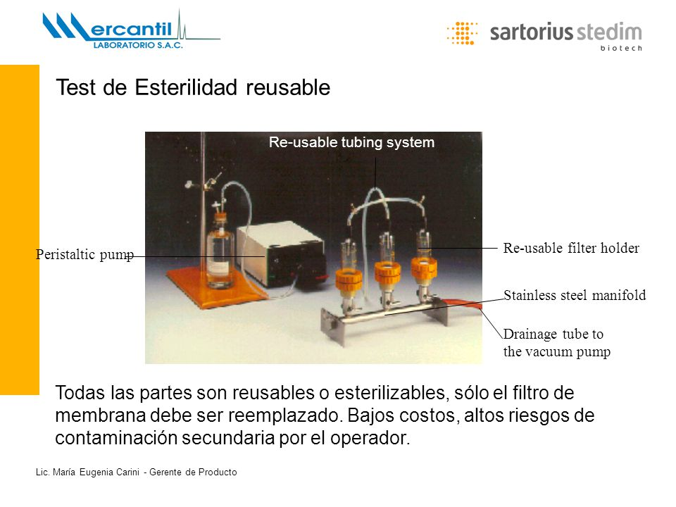 Test de Esterilidad reusable