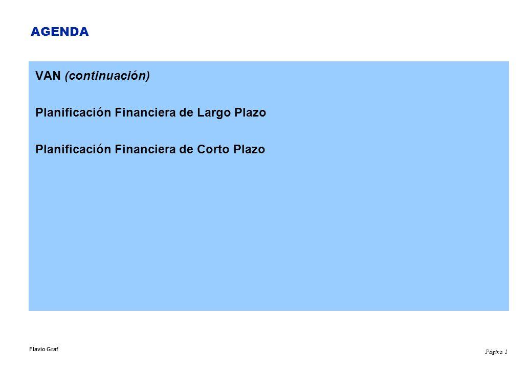Planificación Financiera de Largo Plazo