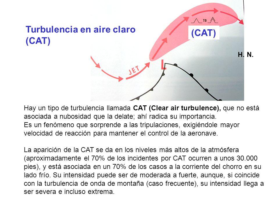 Turbulencia en aire claro (CAT) (CAT)