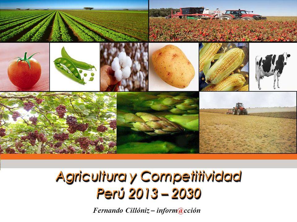 Agricultura y Competitividad