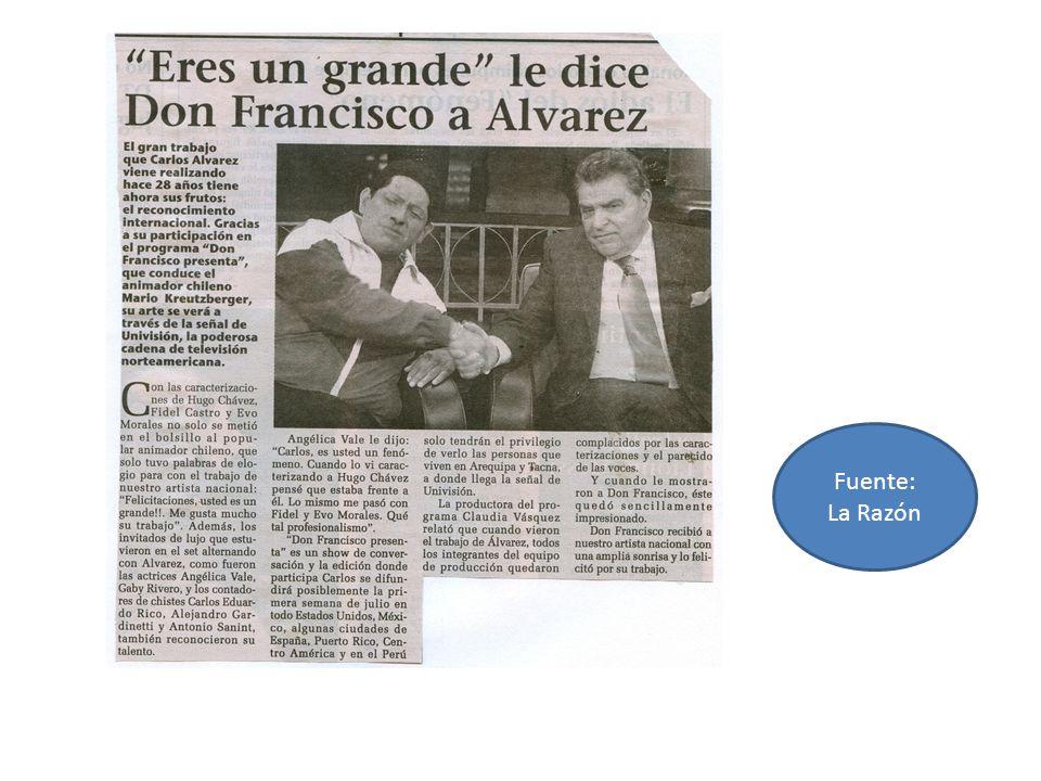 Fuente: La Razón
