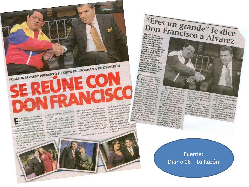 Fuente: Diario 16 – La Razón
