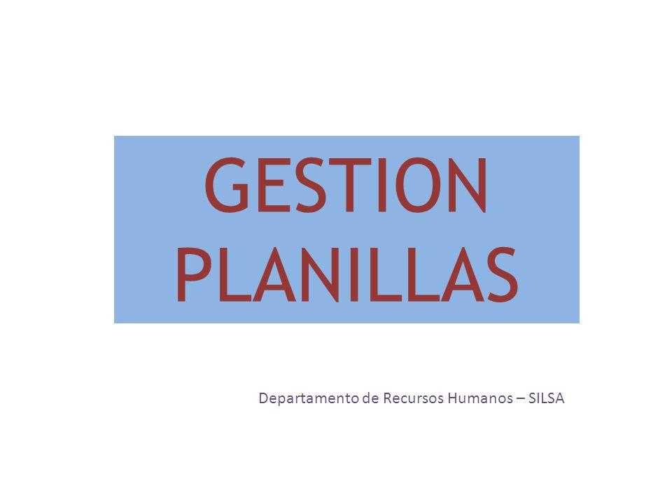Departamento de Recursos Humanos – SILSA