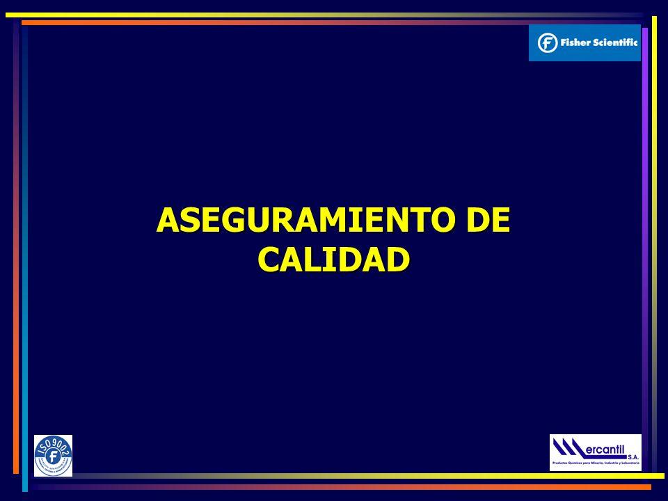 ASEGURAMIENTO DE CALIDAD