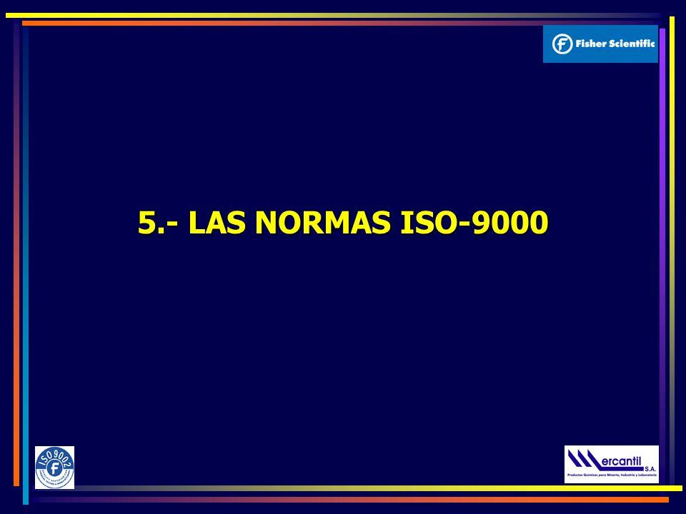 5.- LAS NORMAS ISO-9000