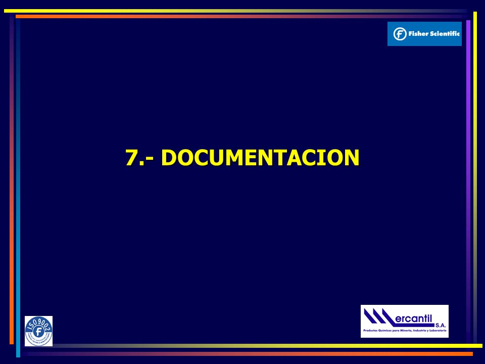 7.- DOCUMENTACION