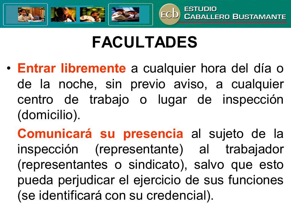 FACULTADES