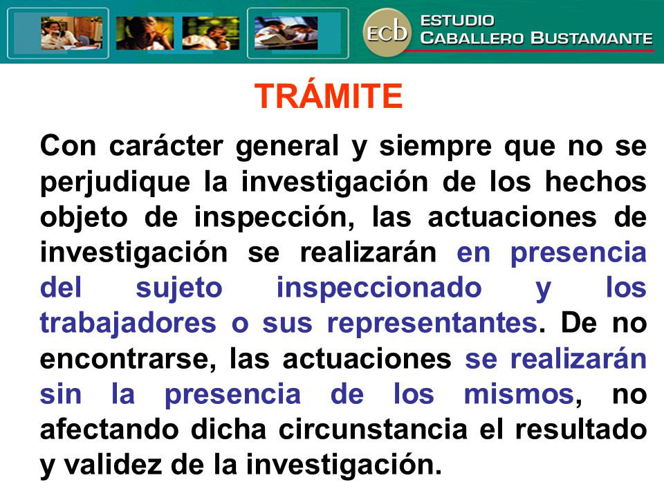 TRÁMITE