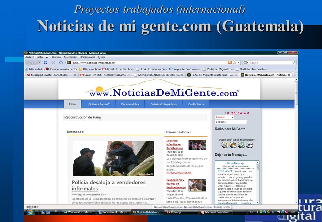 Noticias de mi gente.com (Guatemala)