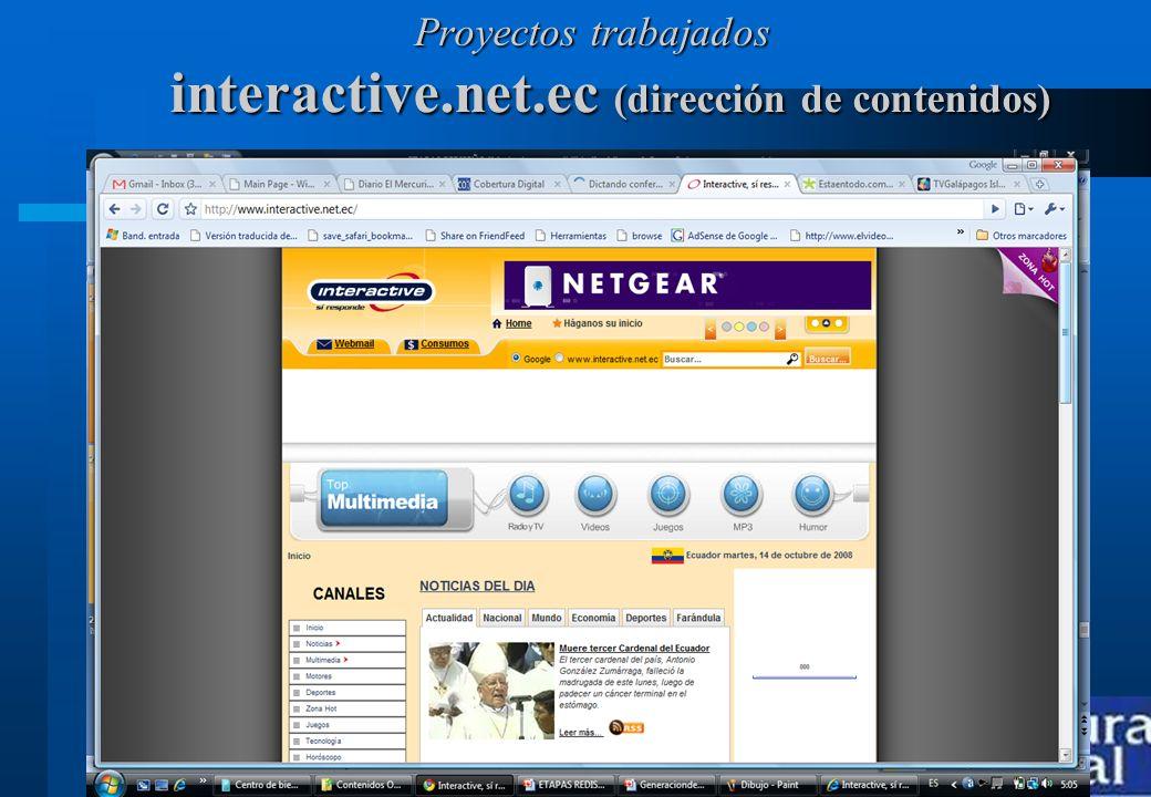 interactive.net.ec (dirección de contenidos)