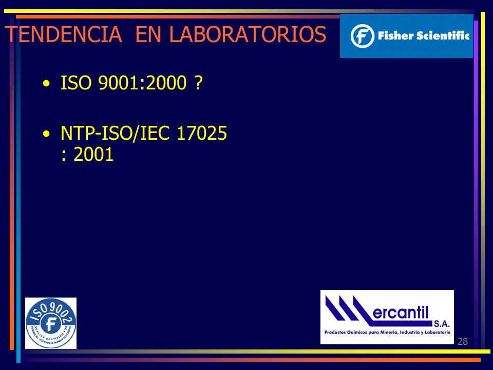 TENDENCIA EN LABORATORIOS