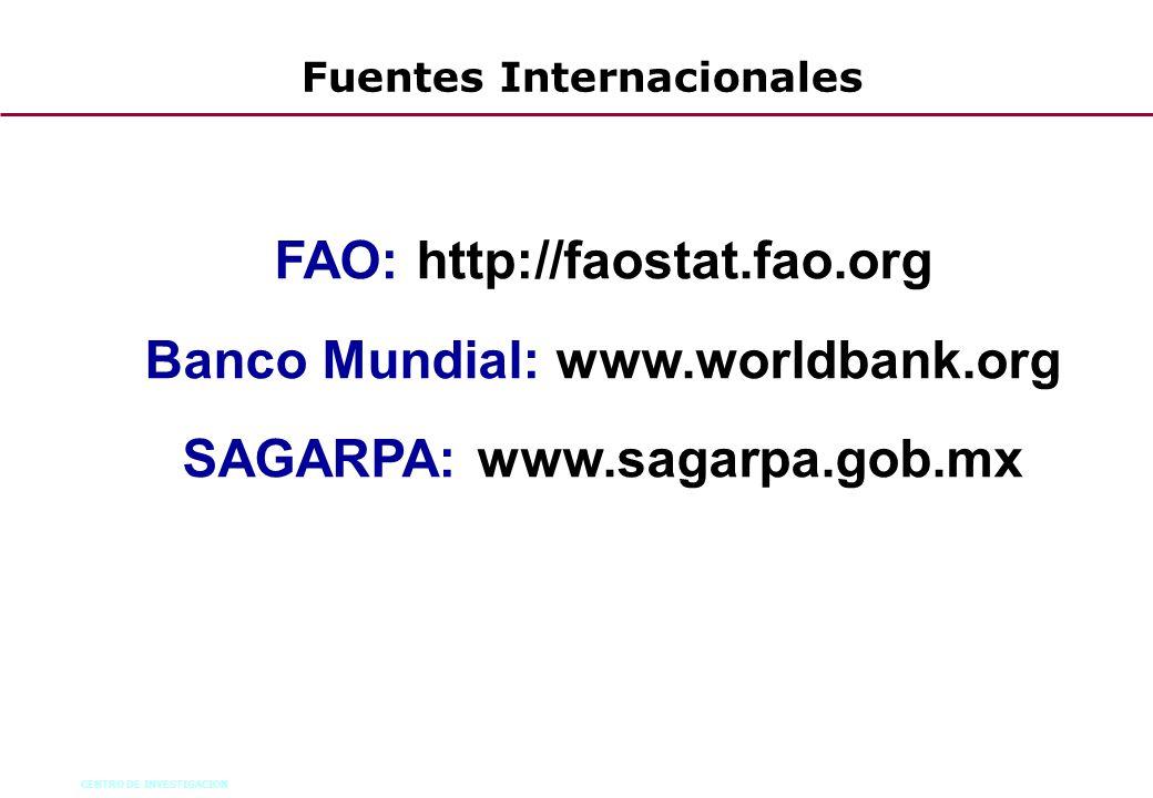 Fuentes Internacionales