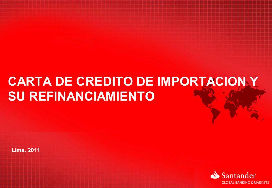 CARTA DE CRÉDITO DE IMPORTACION