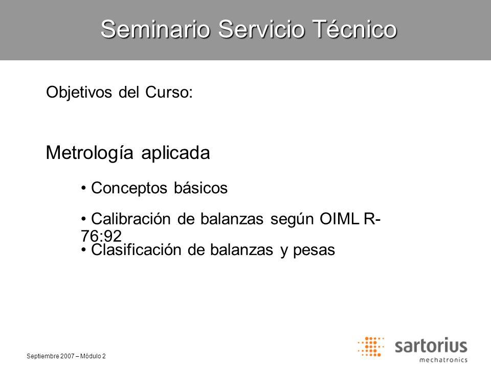 Seminario Servicio Técnico
