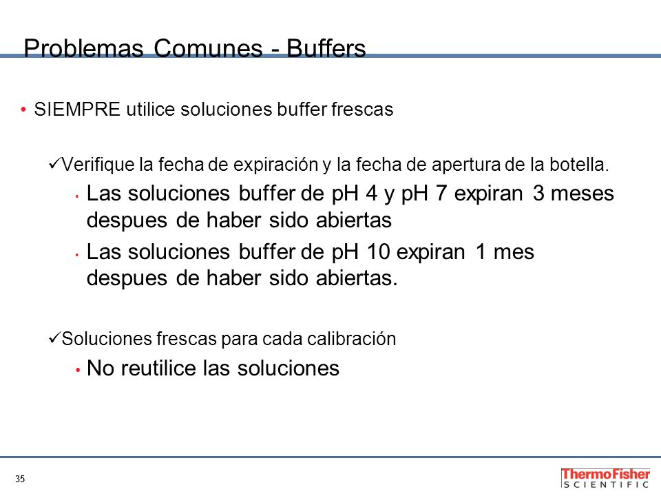 Problemas Comunes - Buffers