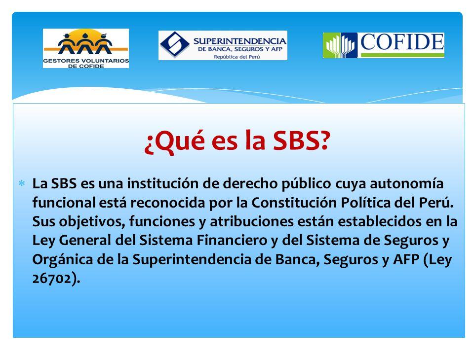 ¿Qué es la SBS