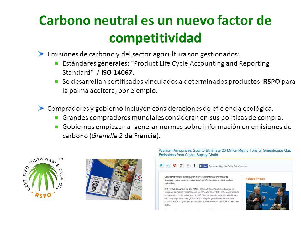 Carbono neutral es un nuevo factor de competitividad